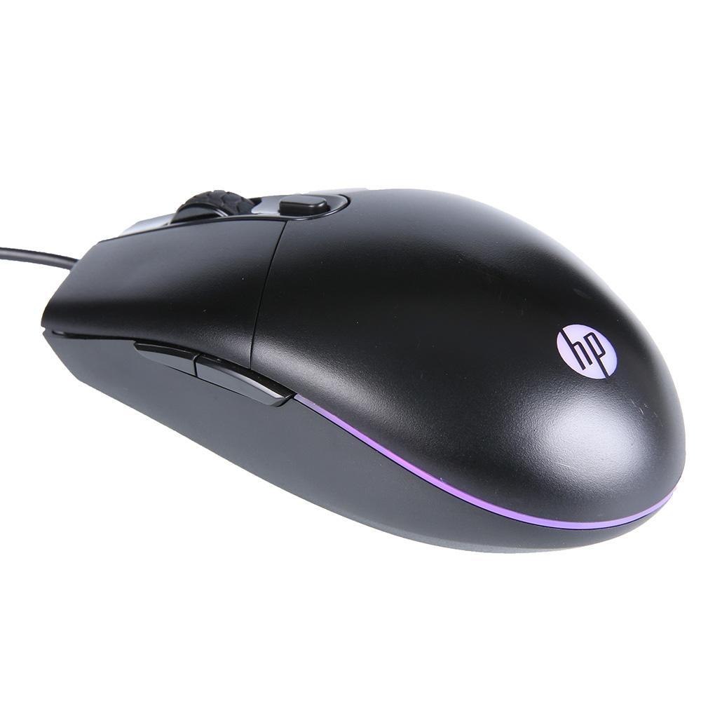 Mouse Gamer USB M260 6400DPI RGB Preto HP