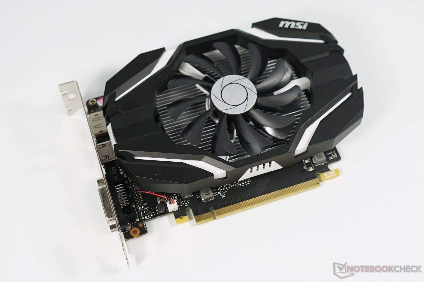 PLACA DE VIDEO MSI GEFORCE GTX 1050TI 4GB DDR5 AFTERBURNER
