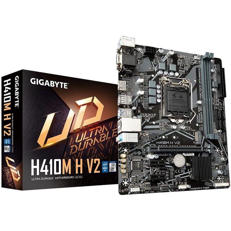 Placa Mãe Gigabyte H410M H V2 Intel LGA1200 Micro ATX DDR4