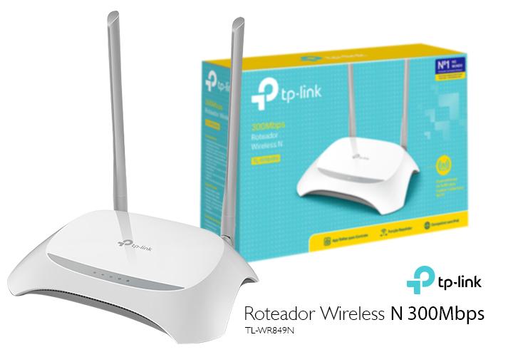 Roteador Tp-Link Tl-Wr849N 300Mbps 2 Antenas