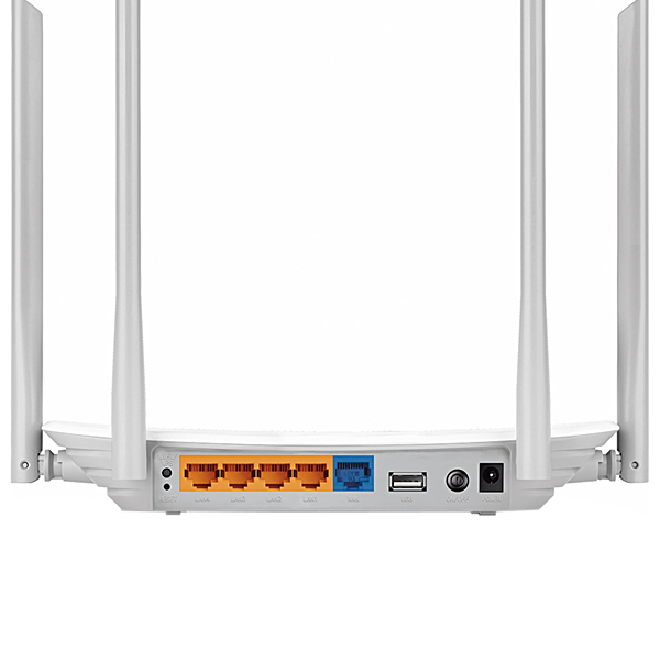 Roteador Wireless TP-Link Archer C5 AC1200 Dual Band Gigabit Branco
