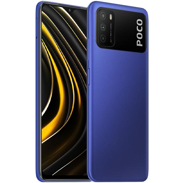 "Smartphone Xiaomi POCO M3 Dual SIM 128GB de 6.53"" 48 + 2 + 2MP / 8MP OS 10 - Cool Blue"