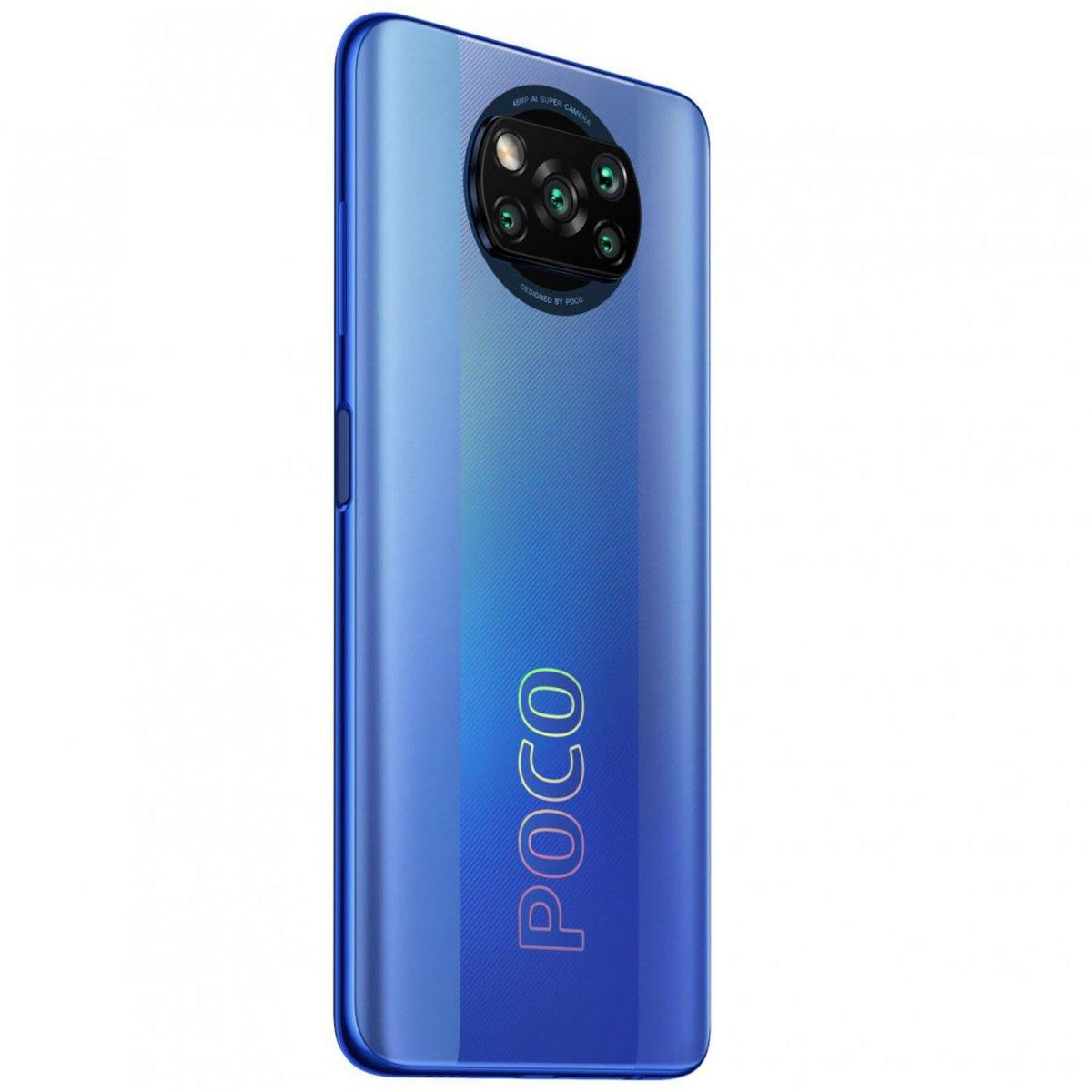 Smartphone Xiaomi Poco X3 Pro - 6/128GB 6.67'' Dual-Sim NFC Frost Blue