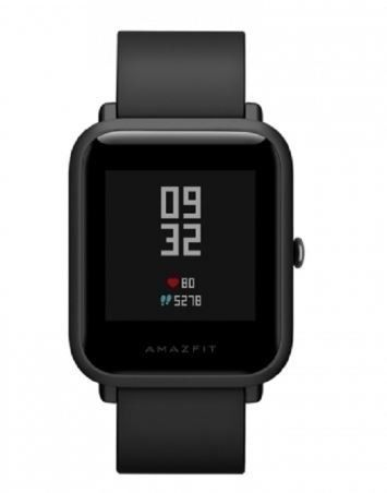 SMARTWATCH XIAOMI AMAZFIT BIP A1608 COM GPS PRETA
