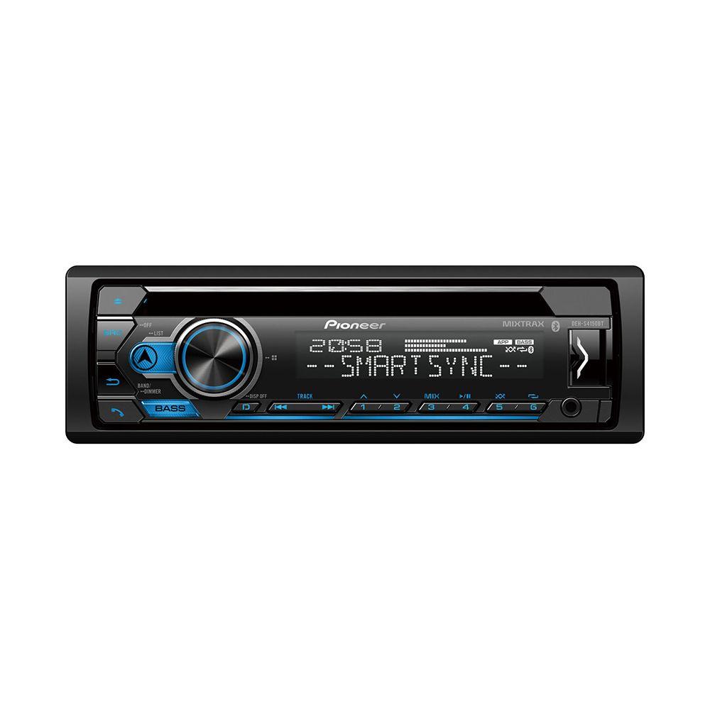 Som automotivo Pioneer DEH S4250BT Toca CD USB e bluetooth