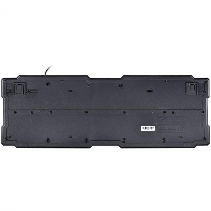 TECLADO USB GAMER VX GAMING DRAGON V2 ABNT2 PRETO COM VERMELHO - GT100