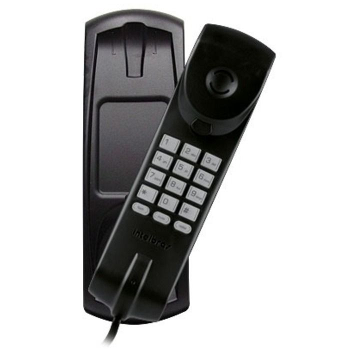 Telefone Gondola Intelbras Tc20 Preto