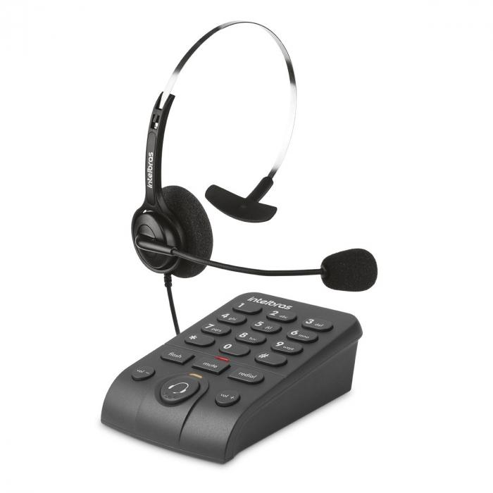 TELEFONE HEADSET INTELBRAS HSB 40 TELEFONISTA