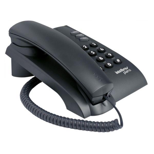 Telefone Intelbras Pleno Preto