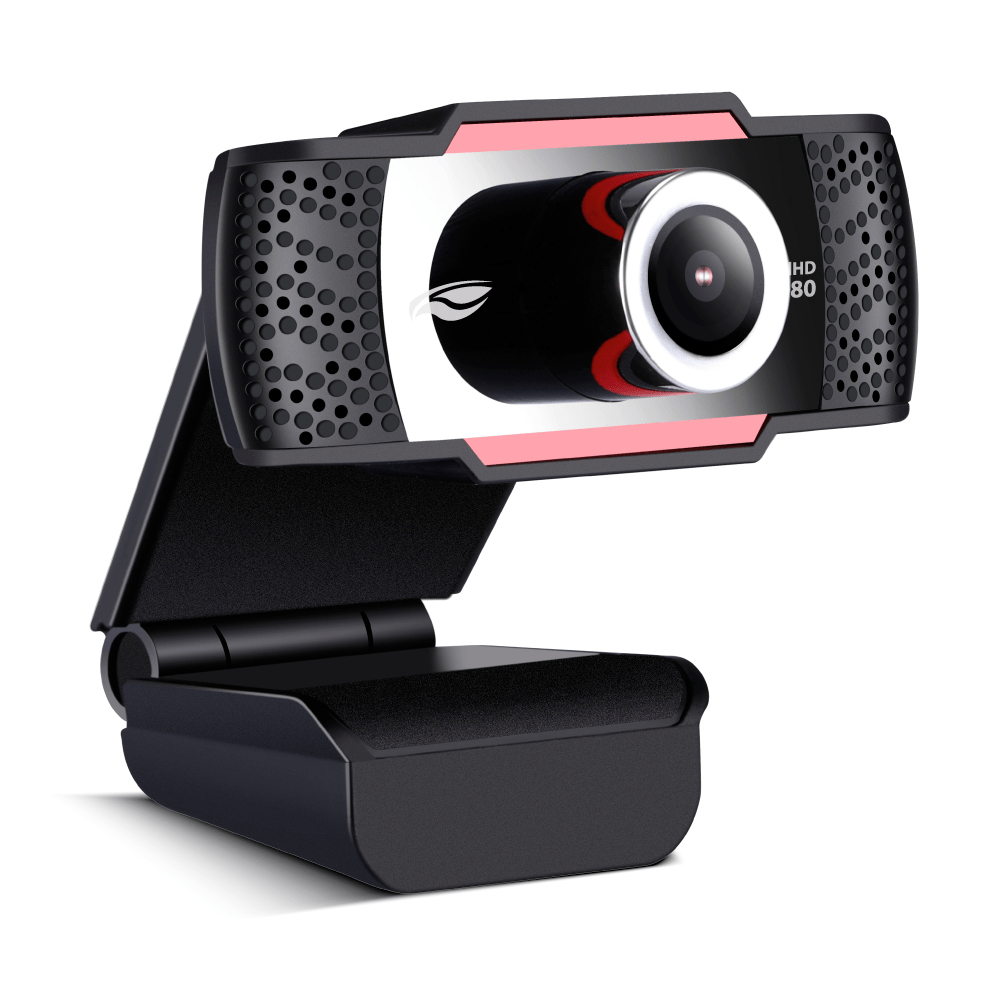 Webcam C3Tech FullHD 1080P WB-100BK Preto