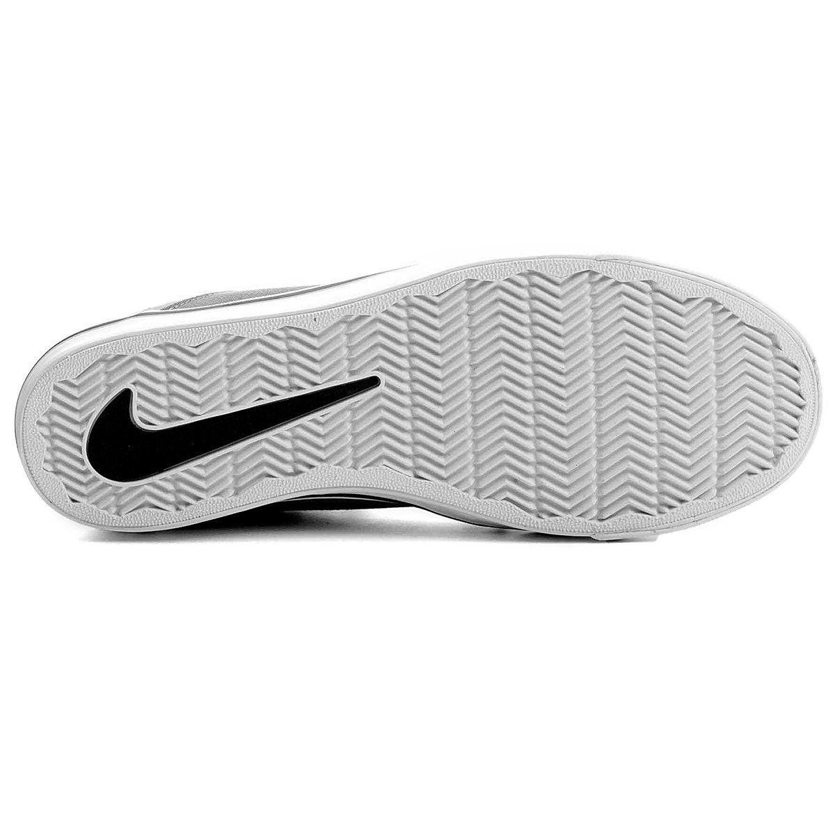 4f70166d36b Tênis Nike SB Portmore Cinza e Branco - Linha Esporte