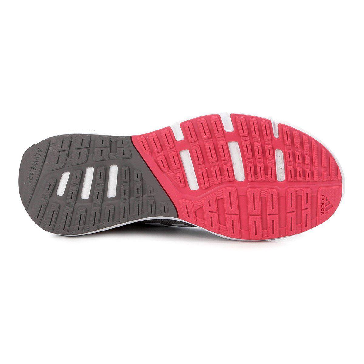 55130cd0115 Tênis Adidas Cosmic 2 Feminino - Cinza e Branco - Linha Esporte