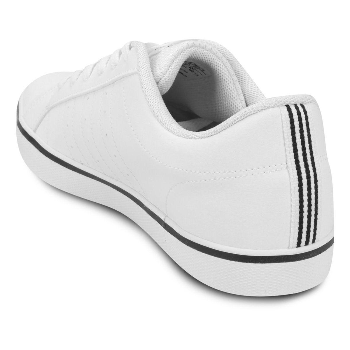 45d9e1b2698 Tênis Adidas Pace Vs Masculino Branco e Preto - Linha Esporte