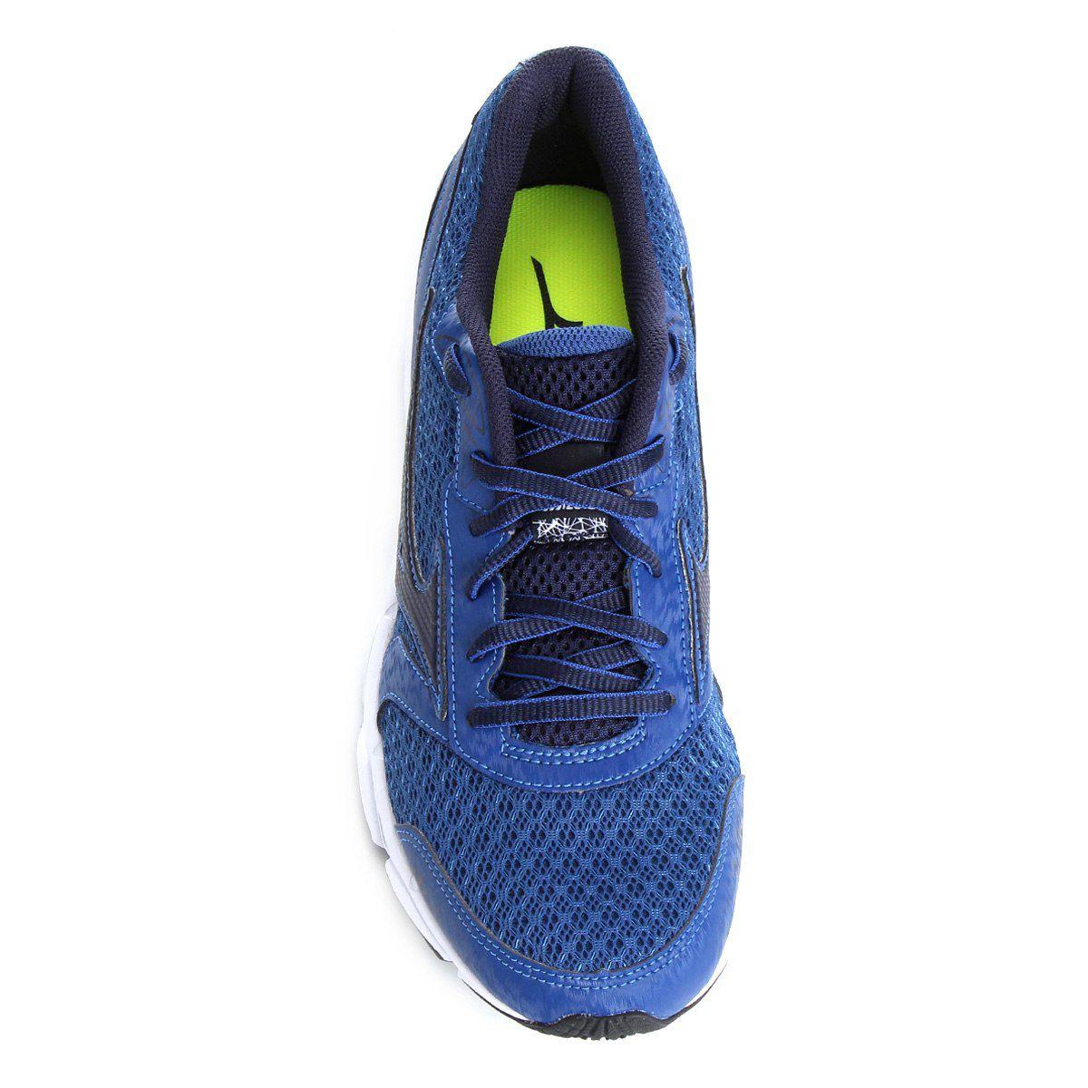 53096cff3 Tênis Mizuno Jet 2 N Masculino - Azul e Branco - Linha Esporte