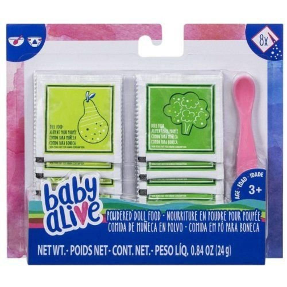 Acessórios Baby Alive Refil de Comida Hasbro