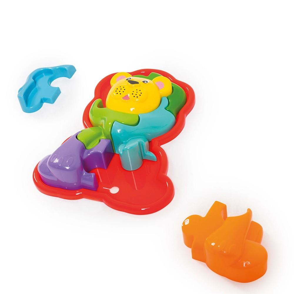 Animal Puzzle 3D Leão Calesita