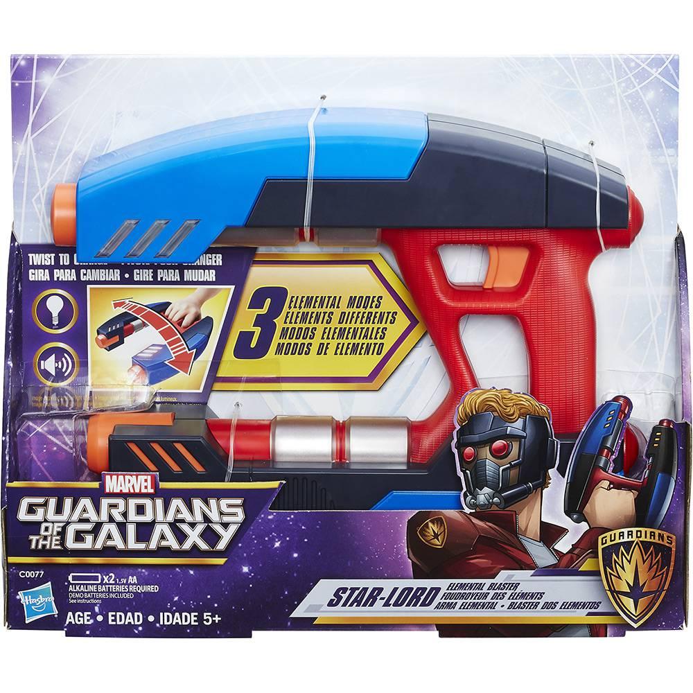 Arma Eletrônica Guardiões da Galáxia Star Lord Hasbro