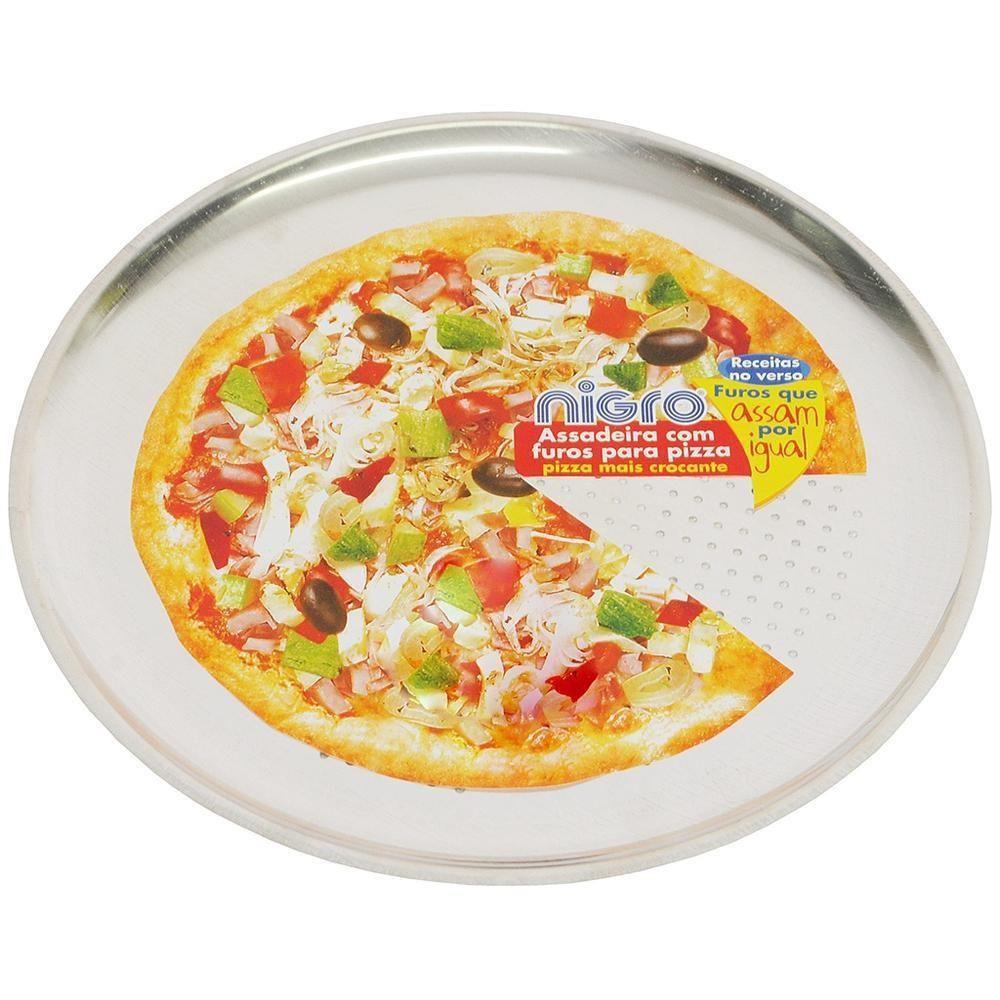 ASSADEIRA DE PIZZA COM FUROS  N.36 NIGRO