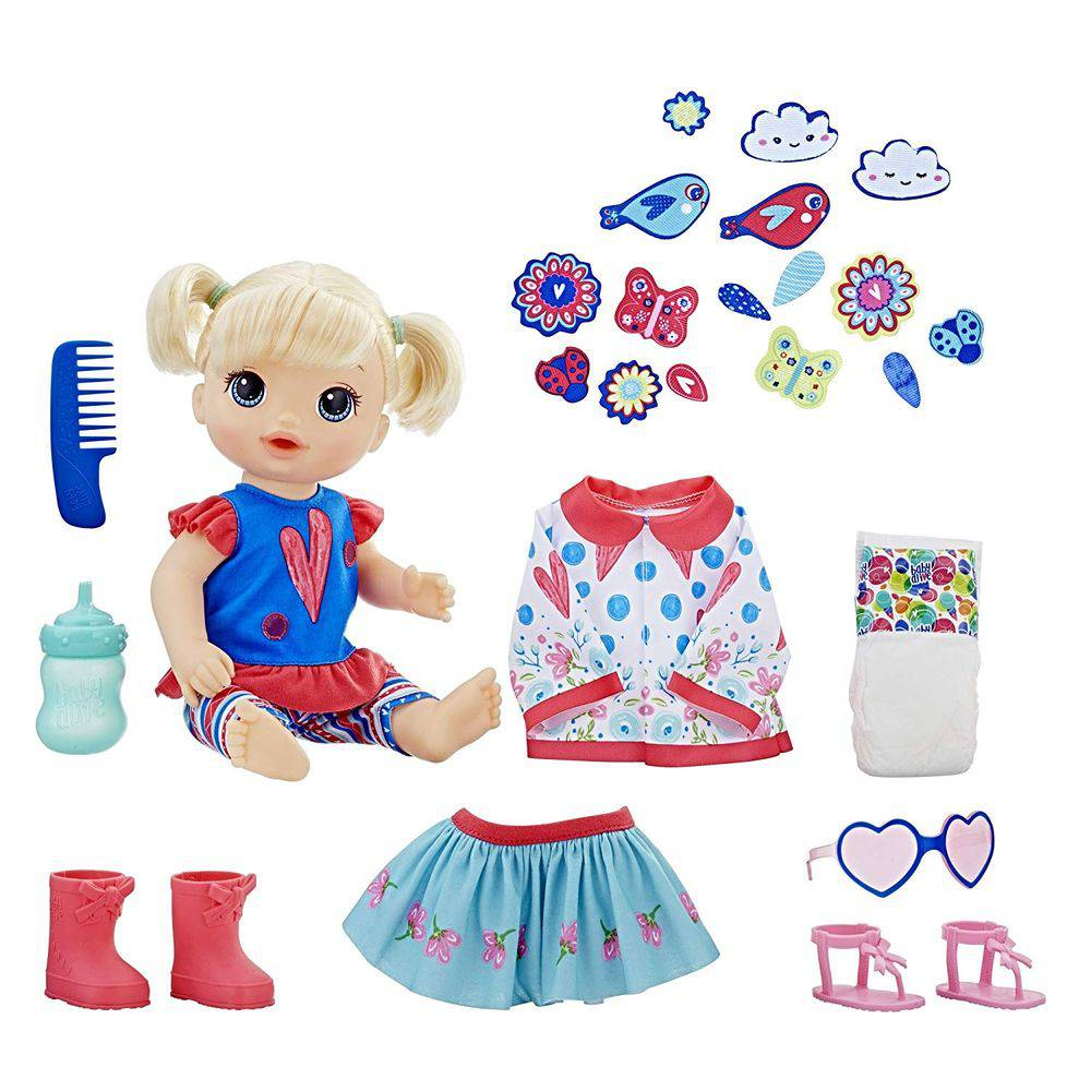 Baby Alive Loira Vestida Para Passear Hasbro Lojas Zanini
