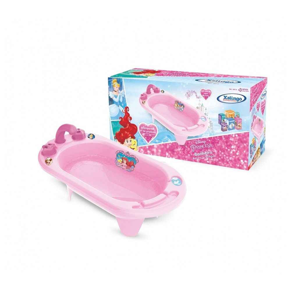 Banheira Princesa Disney Xalingo