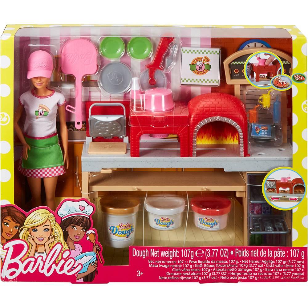 Barbie Pizzaiola Playset Mattel