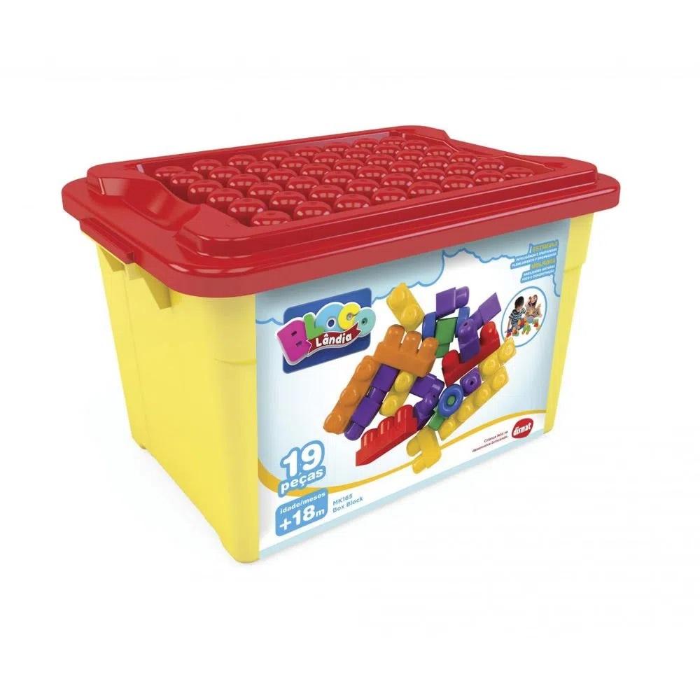 BLOCOS DE MOTAR BOX BLOCK 19 PEÇAS DISMAT
