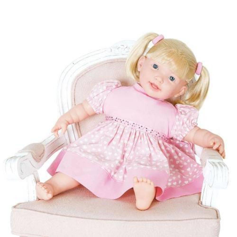 Boneca Adoro Meu Bebê 115 frases Super Toys