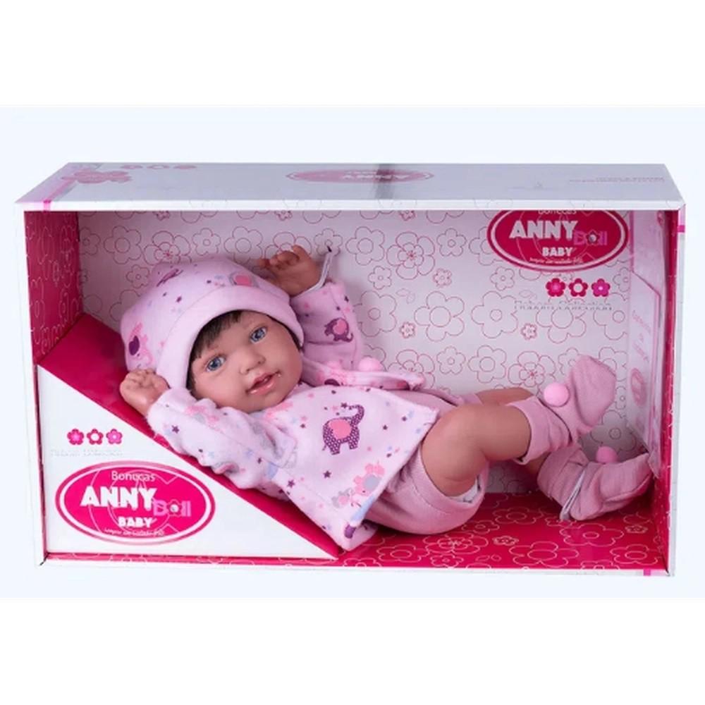 BONECA ANNY DOLL BABY MENINA COTIPLAS