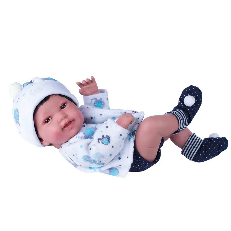 BONECA ANNY DOLL BABY MENINO COTIPLAS