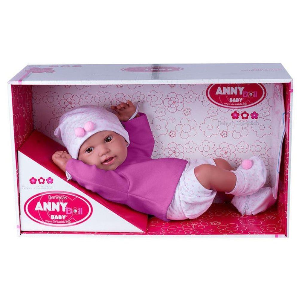 BONECA ANNY DOLL BABY SHORTS BLUSA COTIPLAS