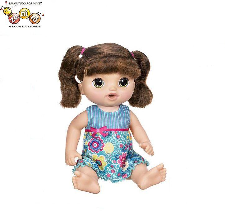 3a24aa256c Boneca Baby Alive Doces Lágrimas Morena Hasbro