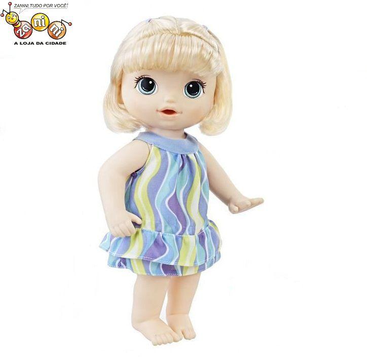 Boneca Baby Alive Pequena Artista Loira Hasbro