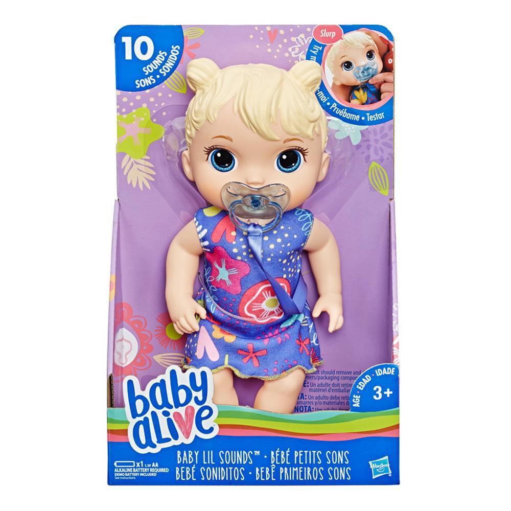 Boneca Baby Alive  Primeiros Sons Hasbro
