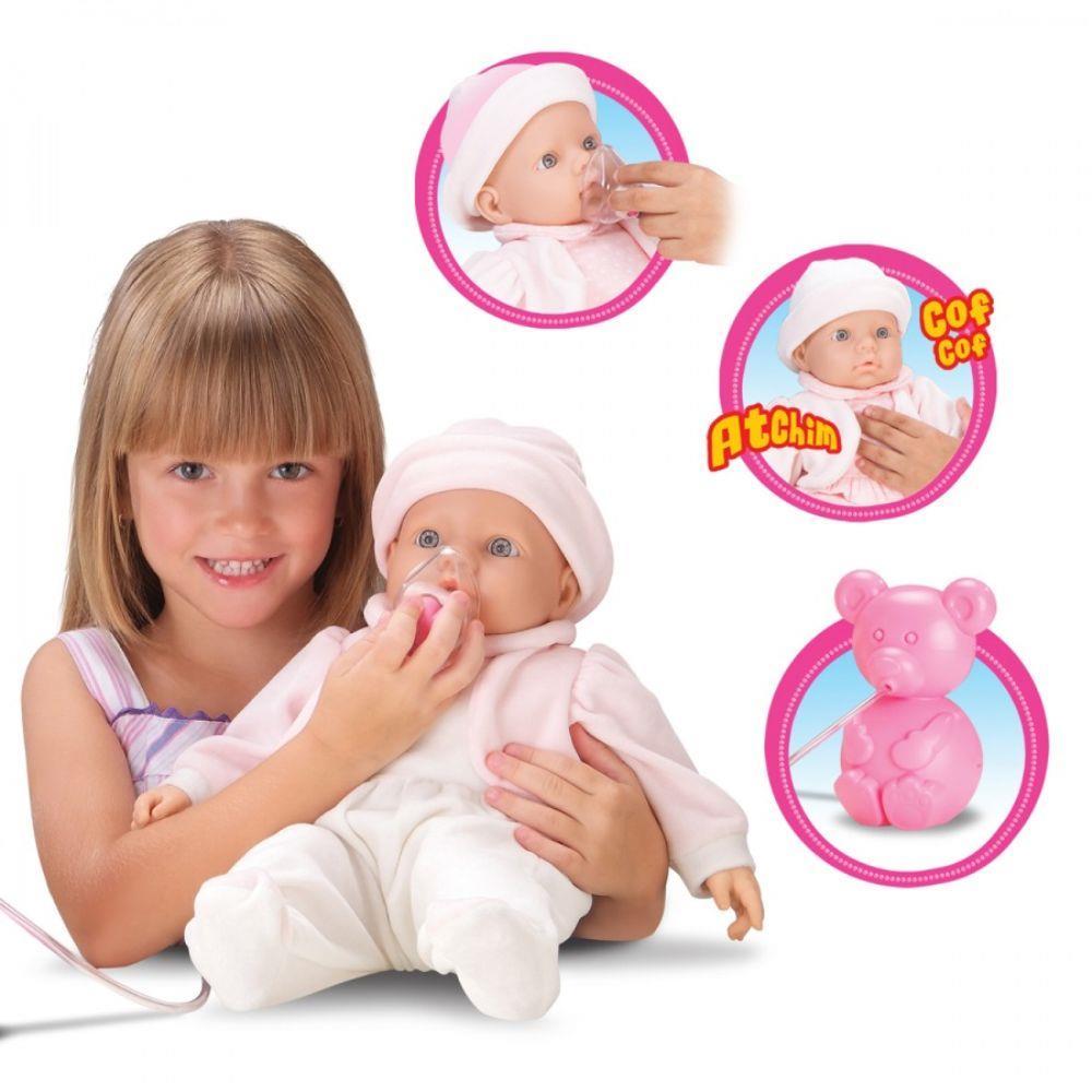 Boneca Baby Inalação  Roma Brinquedos