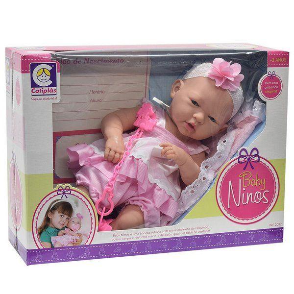 Boneca Baby Ninos Cotiplás