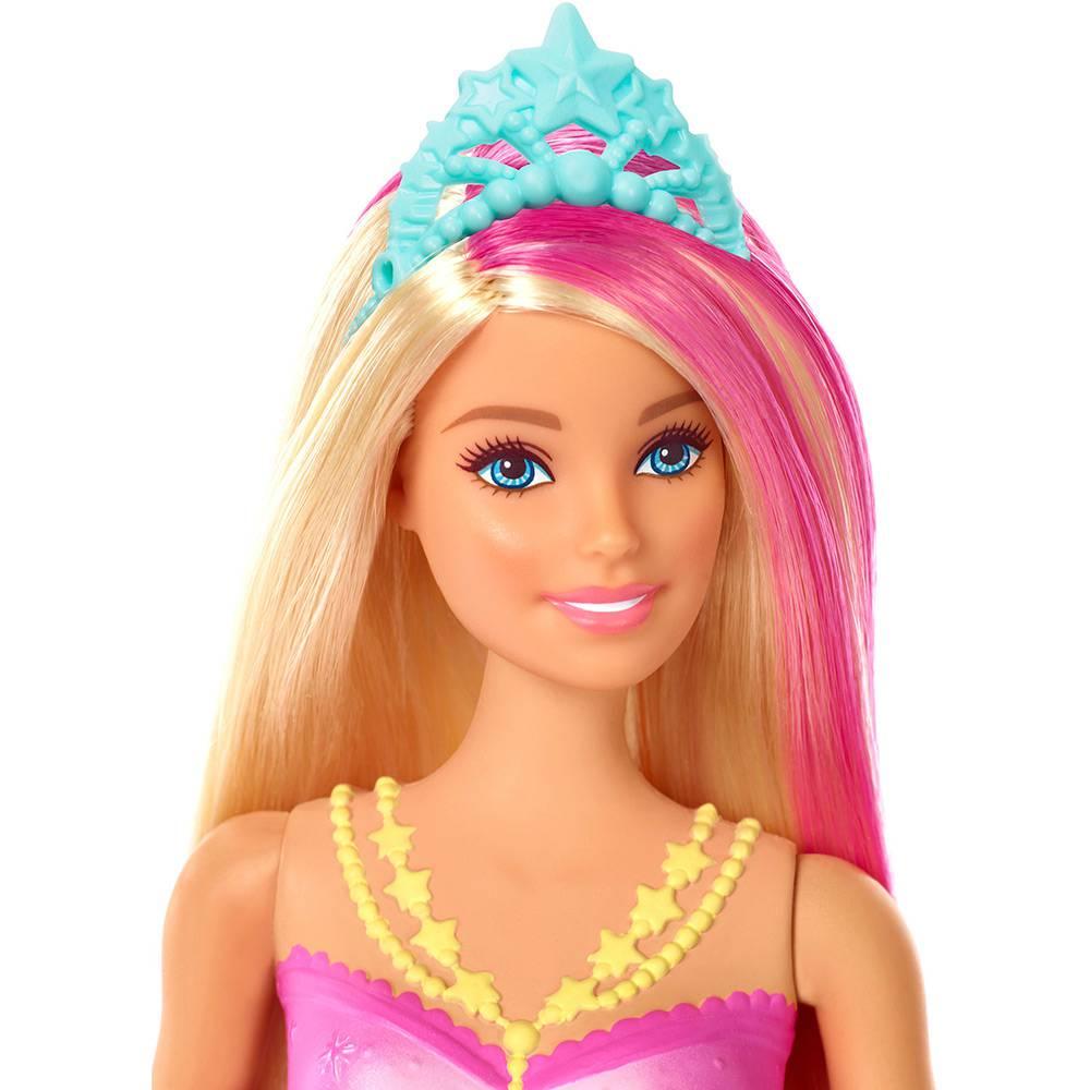 Barbie - Barbie Dreamtopia - Sereia com Luzes - Mattel
