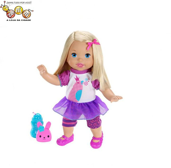 Boneca Fala Comigo Little Mommy Mattel
