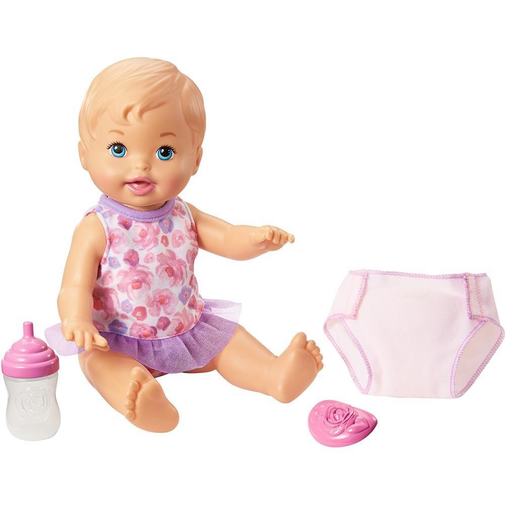 BONECA LITTLE MOMMY BEBE FAZ XIXI MATTEL