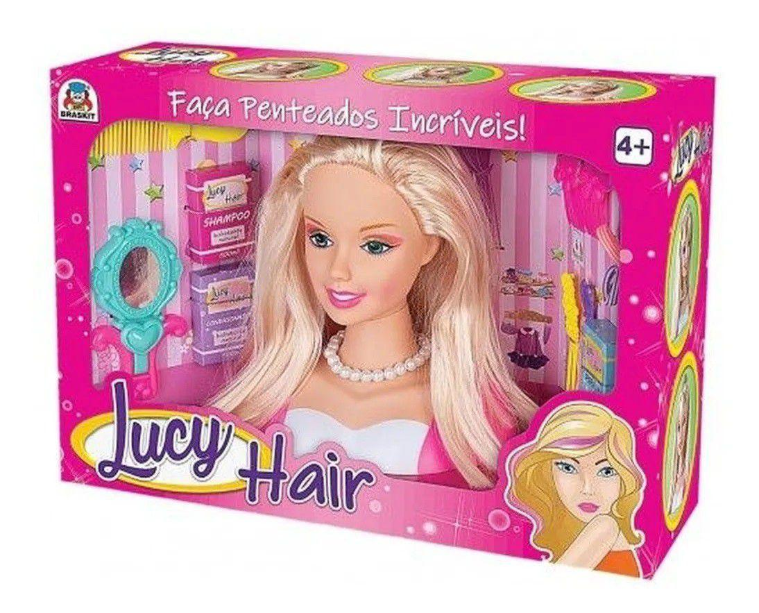 BONECA LUCY HAIR BRASKIT