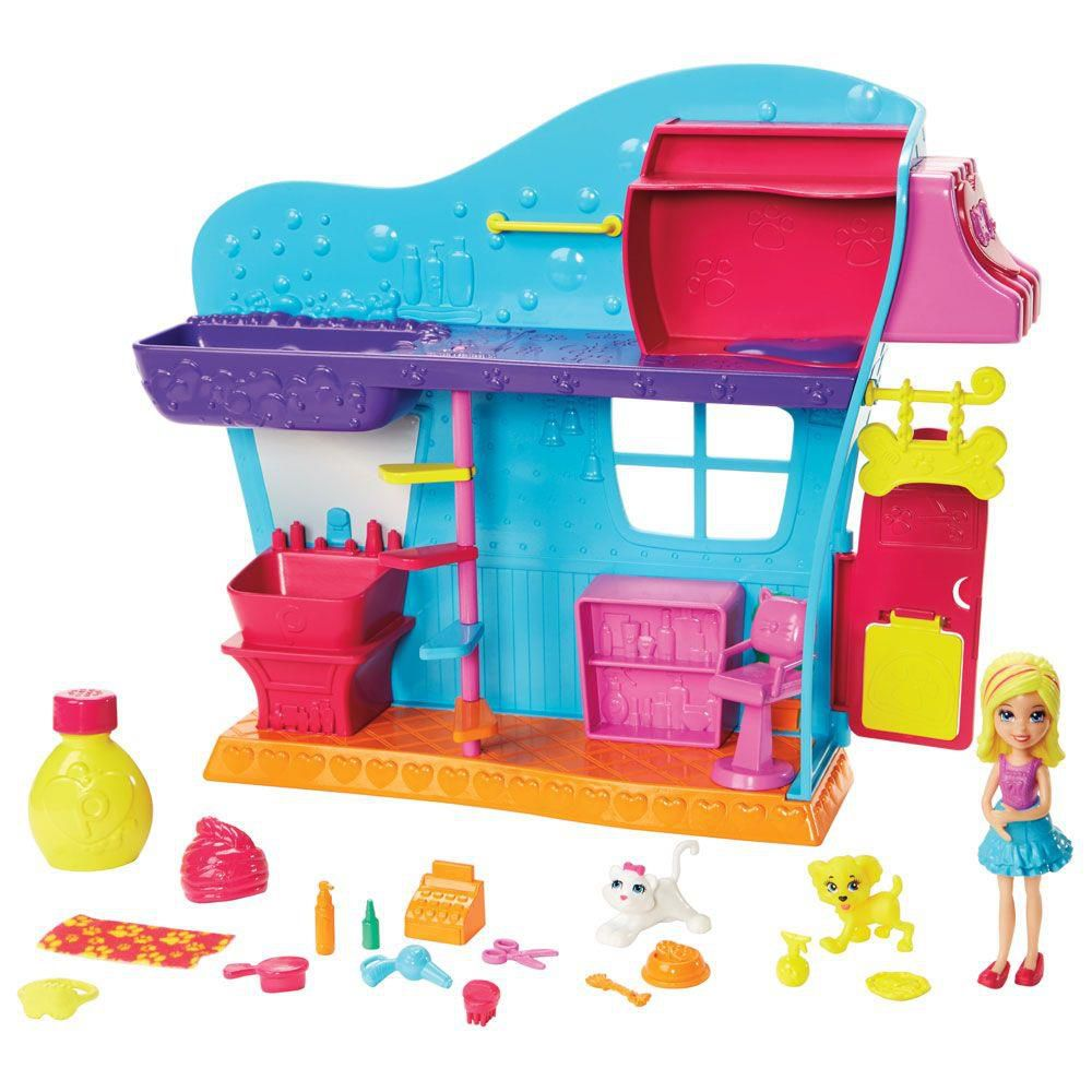 Boneca Polly SPA dos Bichinhos - Mattel