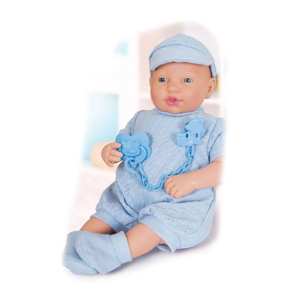 Boneco Bebê  Reborn  Ninos Pesadinho Menino Cotiplás
