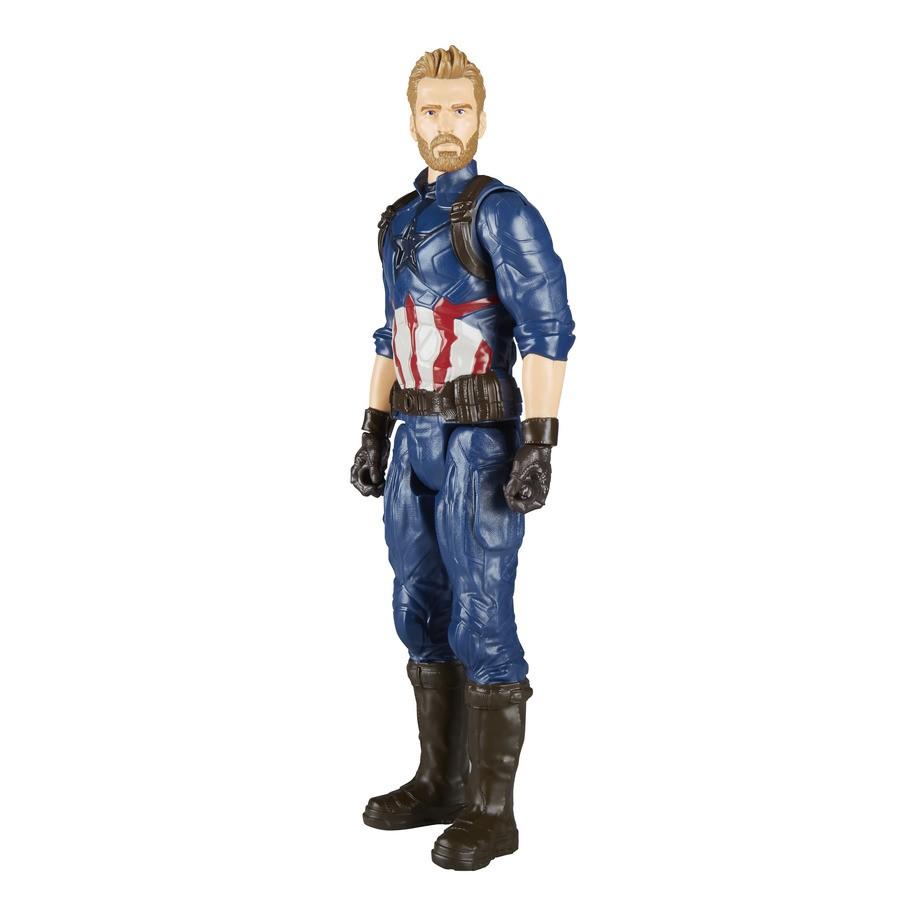 Boneco Capitão América Vingadores: Guerra Infinita Hasbro