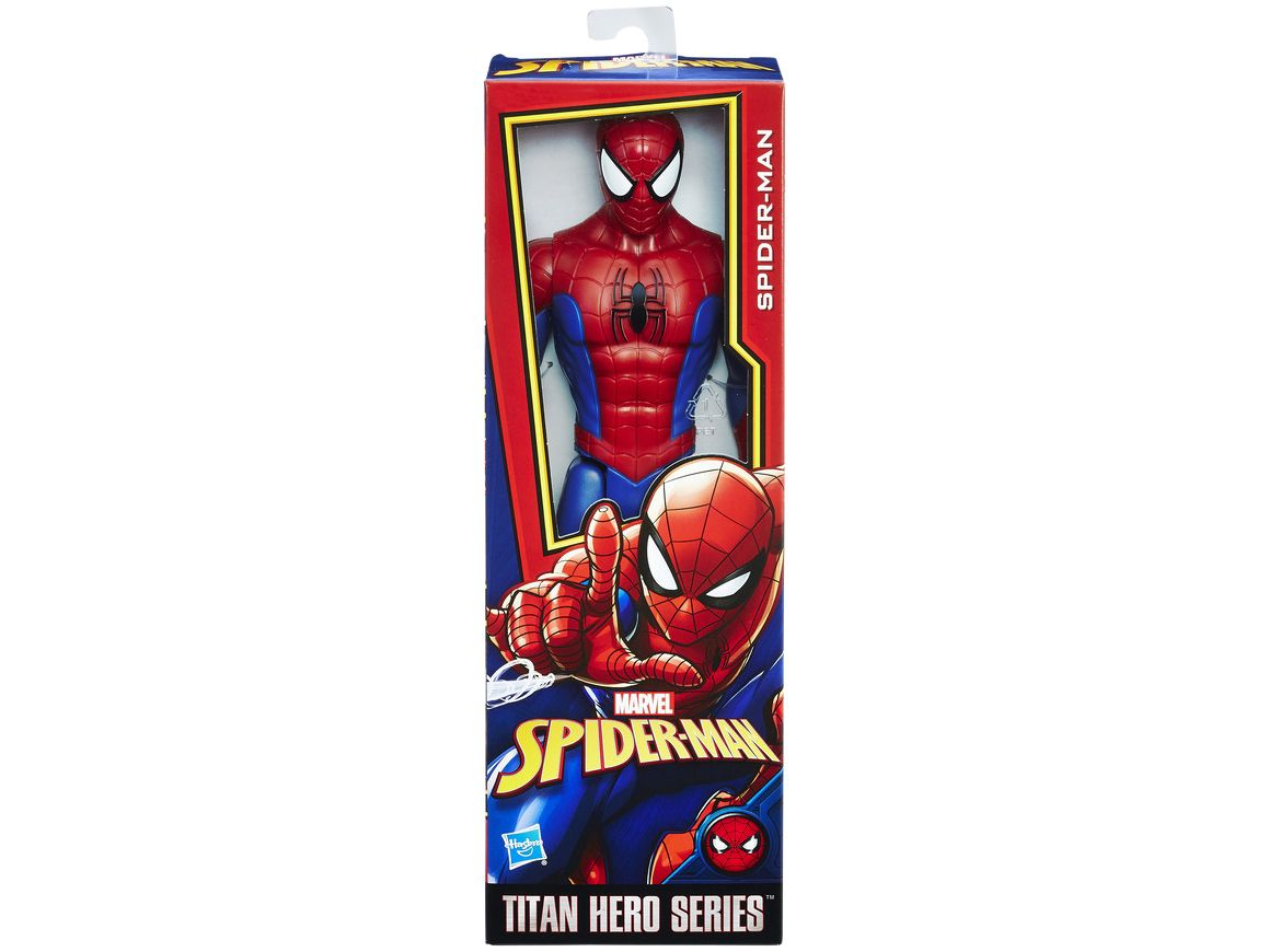 Boneco Homem Aranha Marvel Titan Hero Series Hasbro