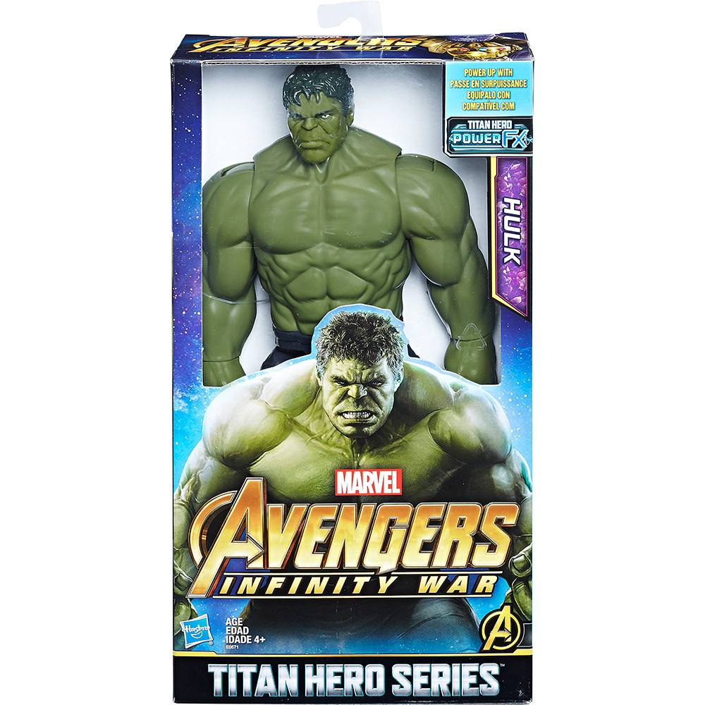 Boneco Vingadores: Guerra Infinita Hulk Hasbro