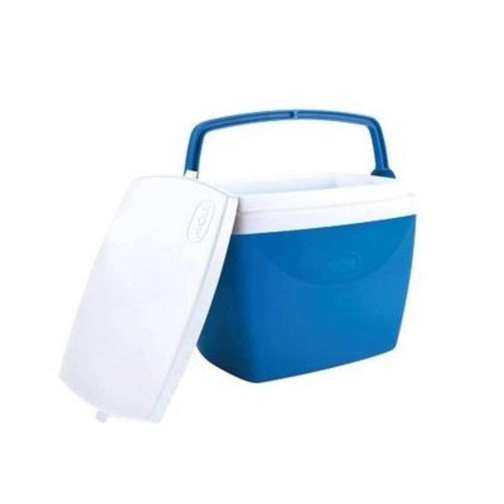 Caixa Térmica Cooler 6 Litros 8 Latinhas Azul Mor
