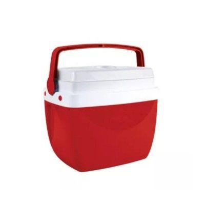 Caixa Térmica Cooler 6 Litros 8 Latinhas Vermelha Mor