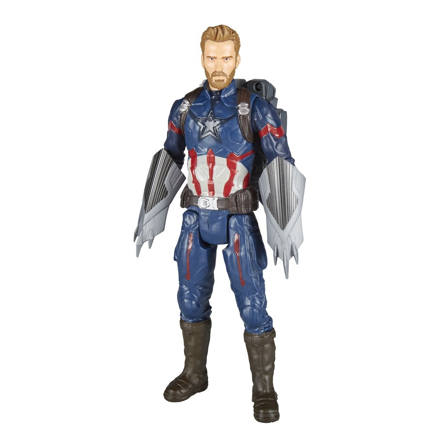 Capitão América Avengers Power Pack Hasbro