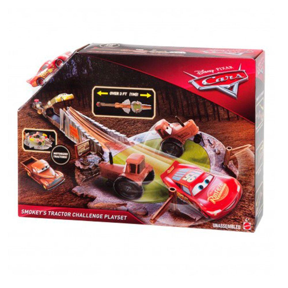 Carros Conjunto Desafio dos Tratores - Mattel