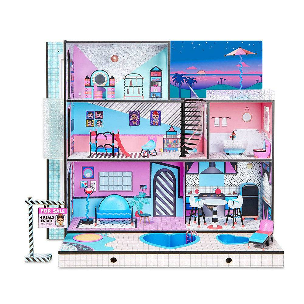 Casa da LOL e Mini Bonecas  LOL Surprise House 85 Surpresas  Candide