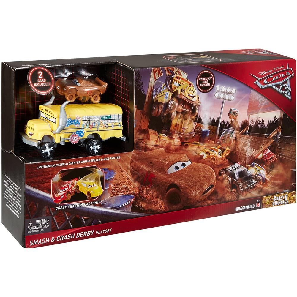 Conjunto Carros 3 Mattel Super Batida